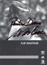 Autograf de la Ilie Nastase